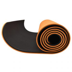 6 Feet X 2.3 Feet With Free Bag - Orange/black