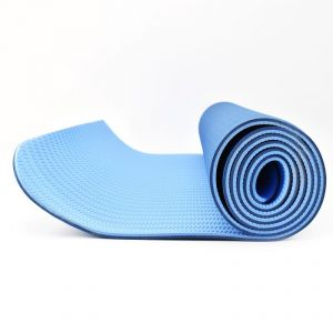 6 Feet X 2.3 Feet With Free Bag - Dark Blue/light Blue