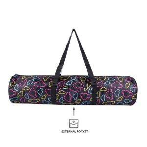 Yoga Mat Bag Printed (full Zip)