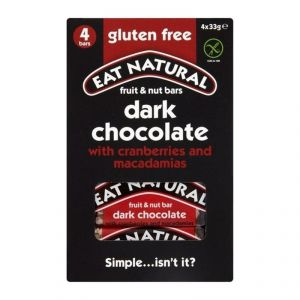 Eat Natural Fruit & Nut Dark Chocolate Bars - 129g (3 X 43g)
