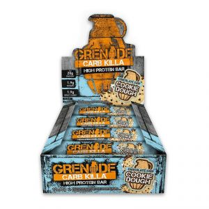 Grenade Carb Killa High Protein Bar, Chocolate Chip Cookie Dough - 720g (12 X 60g)