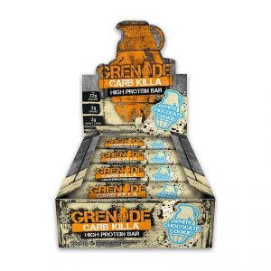 Grenade Carb Killa High Protein Bar, White Chocolate Cookie - 720g (12 X 60g)