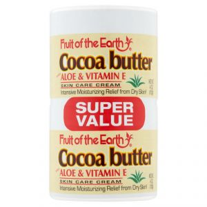 Fruit Of The Earth Cocoa Butter With Aloe & Vitamin E Skin Care Cream, Twin Pack - 226g (2 X 113g)