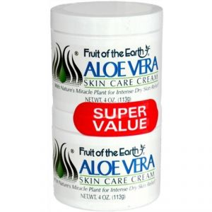 Fruit Of The Earth Alo Vera Skin Care Cream, Twin Pack - 226g (2 X 113g)
