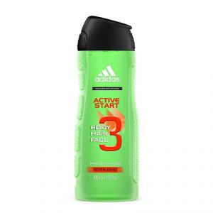 Adidas Active Start Body, Hair & Face Shower Gel, Pro Vitamin B5revitalising - 400ml (13.5oz)