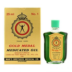 Gold Medal Medicated Oil - 25ml