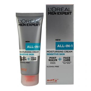 Loreal Men Expert All-in-1 Mosturising Cream, Sensitive Skin - 75ml
