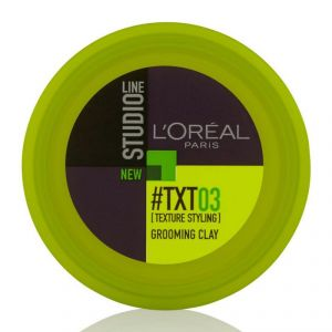Loreal Paris Studio Line #txt03 Grooming Clay - 75ml