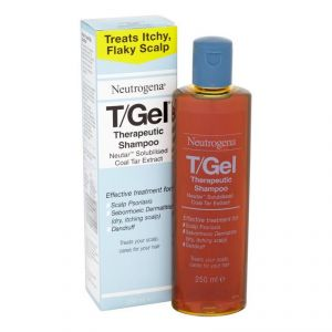 Neutrogena T/gel Therapeutic Shampoo, Coal Tar Extract - 250ml