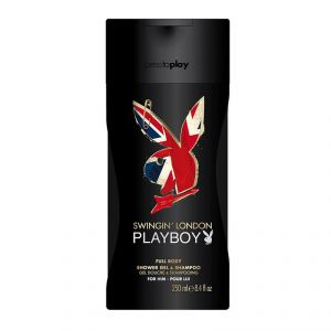 Playboy Swingin London Full Body Shower Gel & Shampoo - 250ml(8.4oz)