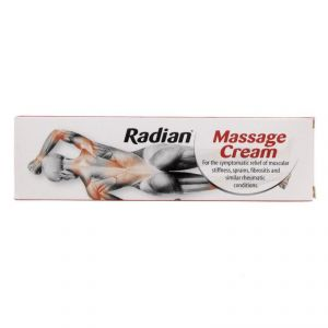 Radian Massage Cream For Instant Relief - 100g