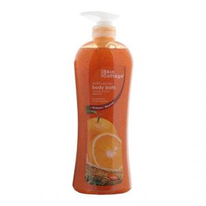 Skin Cottage Bath+scrub Body Bath, Orange Peach Essence - 1000ml