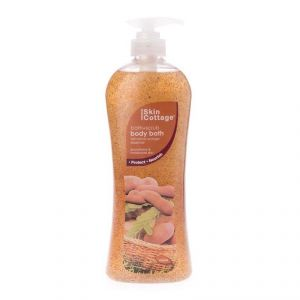 Skin Cottage Bath+scrub Body Bath, Tamarind Orange Essence - 1000ml