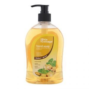 Skin Cottage Hand Soap, Ginger And White Tea Extracts - 500ml