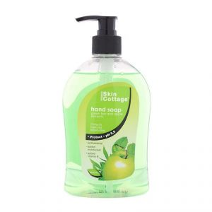 Skin Cottage Hand Soap, Green Tea And Apple Extracts - 500ml