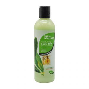 Skin Cottage Moisturizing Body Bath, Green Tea And Milk - 400ml