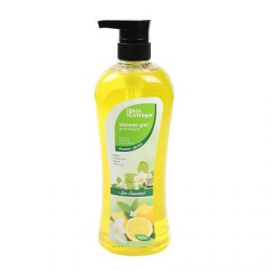 Skin Cottage Shower Gel, Lemon Bouquet, Spa Essential - 1000ml