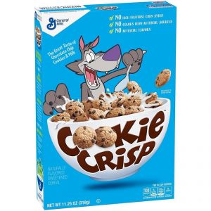 General Mills Cookie Crisp Chocolate Chip Flavored Cereal - 318g (11.25oz)