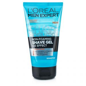 Loreal Paris Men Expert Non Foaming Shave Gel, Sensitive - 150ml