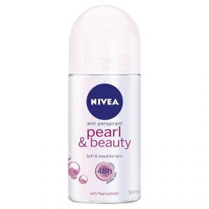 Nivea Anti-Perspirant Pearl & Beauty, Pearl Extract - 50ml
