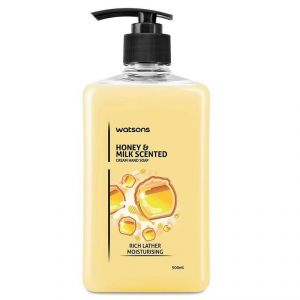 Watsons Honey & Milk Scented Cream Hand Soap - 500ml