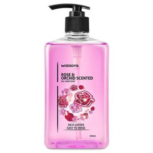 Watsons Rose Orchid Scented Gel Hand Soap - 500ml
