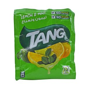 Tang Lemon & Mint Flavor Instant Drink Mix - 84g