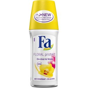 Fa Floral Protect Orchid & Viola Anti-perspirant - 50ml