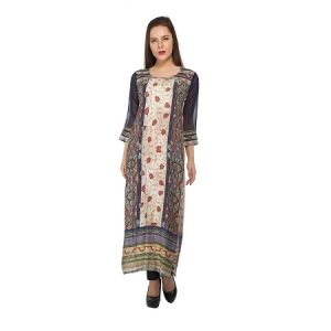 Present Women Multicolor Cotton Kurti ( Code-pc-3209)