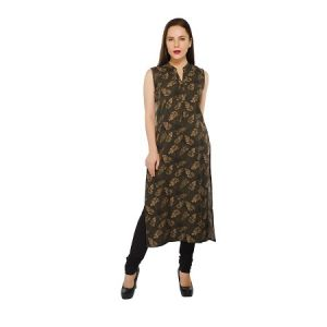 Present Women Olive Cotton Kurti ( Code-pc-3198-a2)
