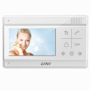 Uni 4.3 Inch Video Door Phone- (code- Uvh-43h)
