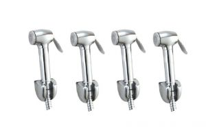 Shoppingekart Dolphin Abs Health Faucet Head (pack Of 4) - (code -hf-2300)