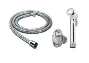 Shoppingekart Magna Brass Health Faucet With 1 Meter S.s Tube And Wall Hook - (code -hf-2210)