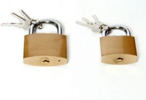 Shoppingekart Stainless Steel 63mm And 50mm Pack Of 2 Lock - (code -l-8411)