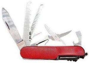 Shoppingekart Stainless Steel 11 In 1 Grand Havest Swiss Army Knife - (Code -S-1143)