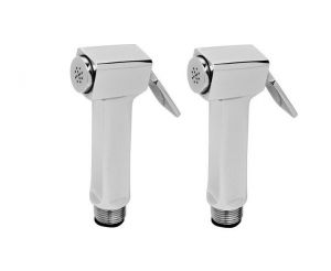 Shoppingekart Cubix Light Brass Health Faucet Head (pack Of 2) - (code -hf-2273)