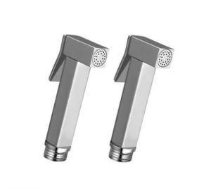 Shoppingekart Square Brass Health Faucet Head (pack Of 2) - (code -hf-2274)