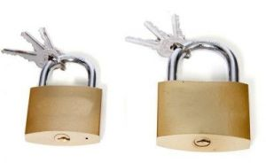 Shoppingekart Stainless Steel 63mm And 75mm Pack Of 2 Lock - (code -l-8408)