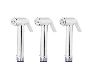 Shoppingekart Sleek Brass Health Faucet Head (pack Of 3) - (code -hf-2296)