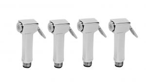 Shoppingekart Cubix Light Brass Health Faucet Head (pack Of 4) - (code -hf-2297)