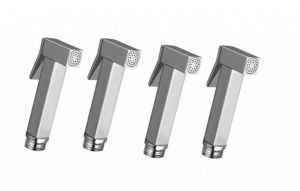 Shoppingekart Square Brass Health Faucet Head (pack Of 4) - (code -hf-2298)