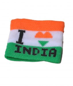 Indigo Creatives Wrist Band I Love My India Gift