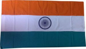 Indian Flag (samnf36x54 Cotton)
