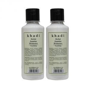 Khadi Herbal Jasmine Moisturizer - 210ml (set Of 2)