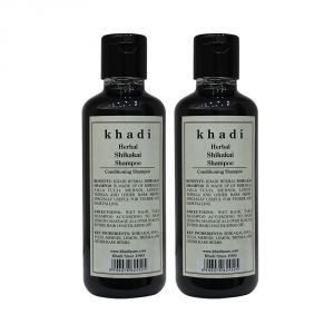 Khadi Herbal Shikakai Shampoo - 210ml (Set Of 2)