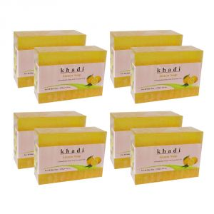 Khadi Herbal Lemon Soap - 125g (set Of 8)