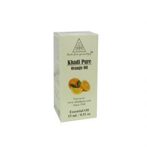 Khadi Pure Herbal Orange Essential Oil - 15ml