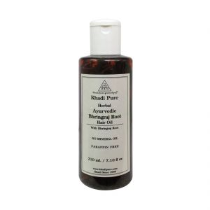 Khadi Pure Herbal Ayurvedic Bhringraj Root Hair Oil - 210ml