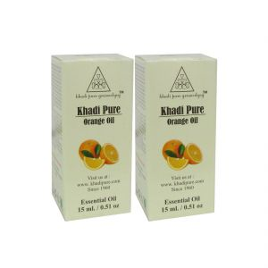 Garnier,Jovan,Khadi Body Care - Khadi Pure Herbal Orange Essential Oil - 15ml (Set of 2)