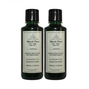 Khadi Personal Care & Beauty - Khadi Pure Herbal Pure Amla Hair Oil - 210ml (Set of 2)